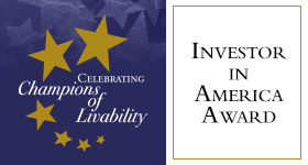 Partners for Livable Communities Award